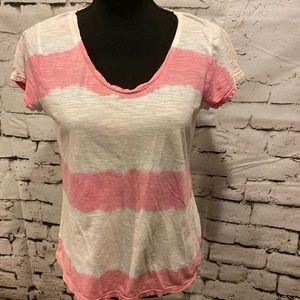 Ann Taylor Loft striped casual T-shirt
